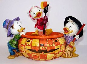 Playing Tricks and Treats, Donald's Nephews