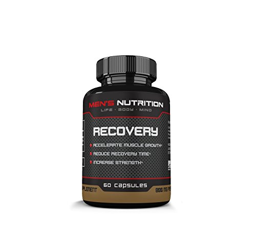 Men's Nutrition Recovery- Accelerate Muscle Growth- Improve Recovery Time- Increase Strength