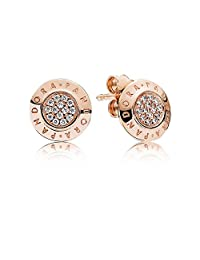 Pandora earrings 280559CZ Woman Pressure Logo Pandora Rose