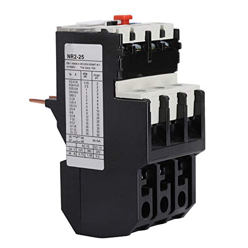 NR2-25 Electric Overload Relay Adjustable Motor Protection Thermal 50-60hz(17-25A)