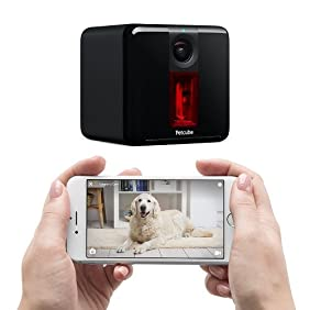 Petcube Play: Pet Camera with 1080p Video, 2-Way Audio, Night Vision, and Laser Toy