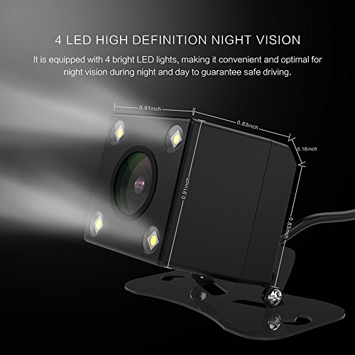 Rear-View-Backup-Camera-4-LED-Dynamic-Night-Vision-HD-170-Degree-Wide-Angle-Car-Reversing-Camera-with-WaterproofLatest-Technology