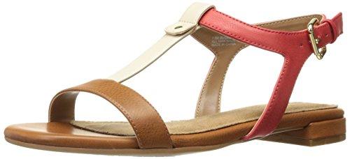 - Aerosoles Women's Buckle Down Dress Sandal, Dark Tan Combo, 5 M US