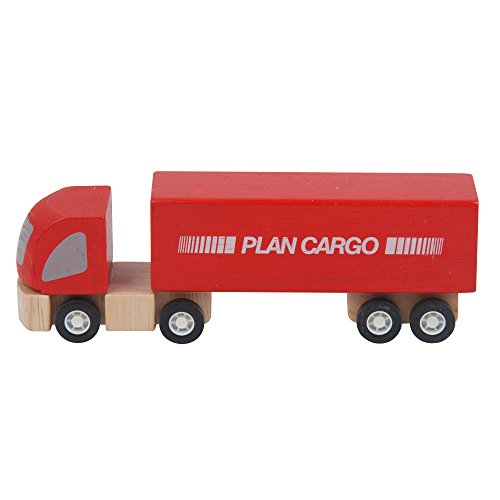 Toy Truck City - Plan Toys City Series Cargo Truck
