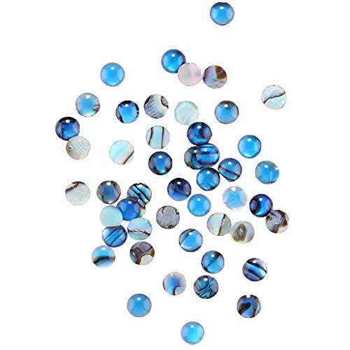 - AHAYAKU Nail Shell Stone Pure Natural Gloss Irregular Epoxy Manicure Shell Pieces