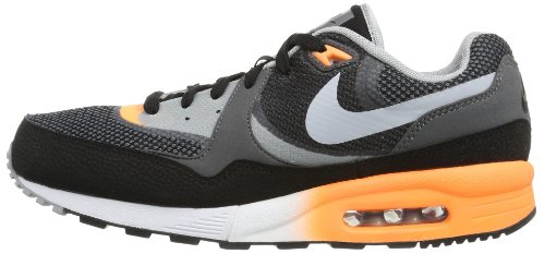 tela C1 Zapatillas Max metallic atomic Schwarz Nike Wolf Silver Light Orange hombre Negro Air de Grey Black pcYnWf