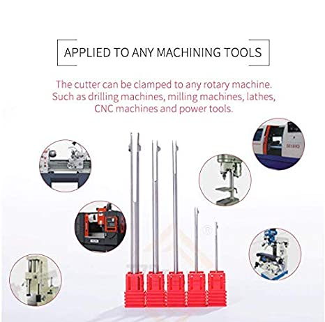 Chamfer Tool Deburring Cutting Tools for Hole 1-10mm High-Speed Steel Inner Hole deburring and chamfering Rotary Burr 1.0-1.2mm