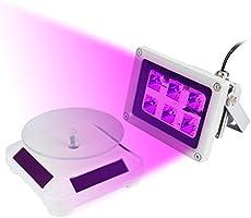 JUNESUN Juntun, 60 W, luz de curado fotosensible de Resina UV ...