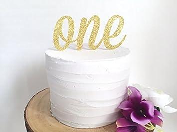 Decoración para tarta para una l primer cumpleaños topper ...