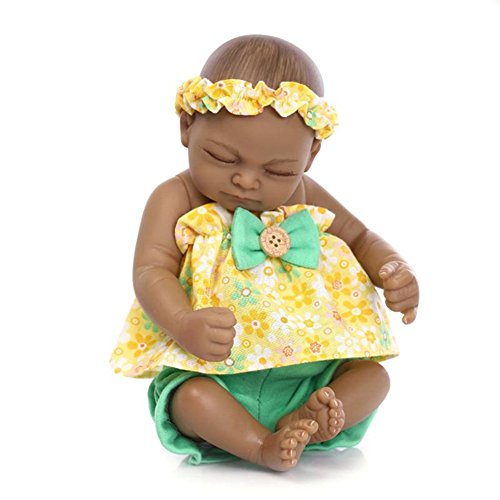 African American Baby Doll With Stroller - 3