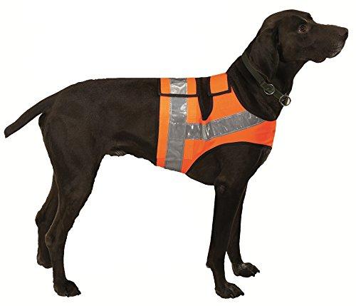 Farm-Land Hunde Reflektorweste Warnweste Leuchtweste Jagdweste (3 = Vorstehhunde bis 100cm)