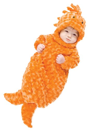 Underwraps Baby's Gold Fish Bunting, Orange, (Halloween Fish Costume)