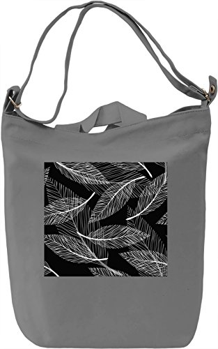Feathers Pattern Borsa Giornaliera Canvas Canvas Day Bag| 100% Premium Cotton Canvas| DTG Printing|