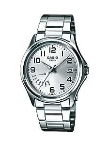 Casio MTP-1369D-7BVEF - Reloj analógico de cuarzo para hombre con correa de acero inoxidable, color plateado