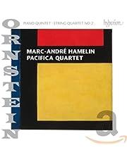 Ornstein: Piano Quintet Op.92, String Quartet No.2