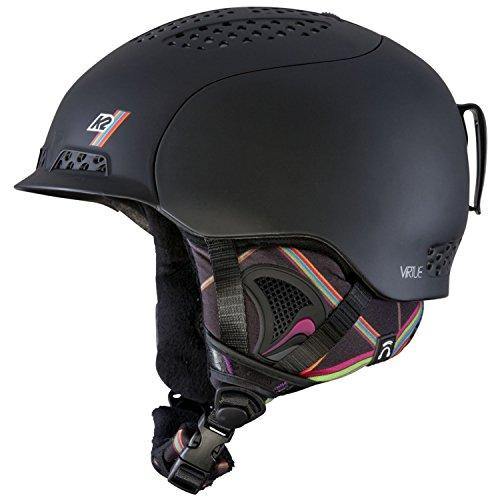 (K2 2013 Virtue Ski Helmet, Small, Black)
