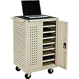 Mobile Storage & Charging Cart, 12 Laptop