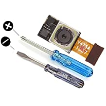 LG Google Nexus 5 Replacement Part Main Camera Rear Back 8 MP Autofocus Flash Cam Reverse with 2 x Screwdriver for easy installation MMOBIEL