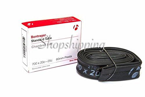 Bontrager 700x20c 25c Road Bike Inner Tube, Fully Thread Presta, Standard 60mm New Package!!!