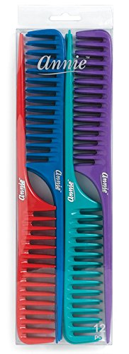 Price comparison product image Annie Large Tail Comb Set, 12 Count