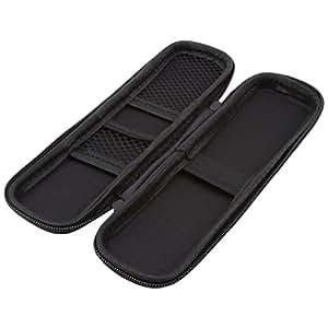 ODN Black EVA Hard Holder Pouch Stationery Makeup Bag Box Shell Pen Pencil Case