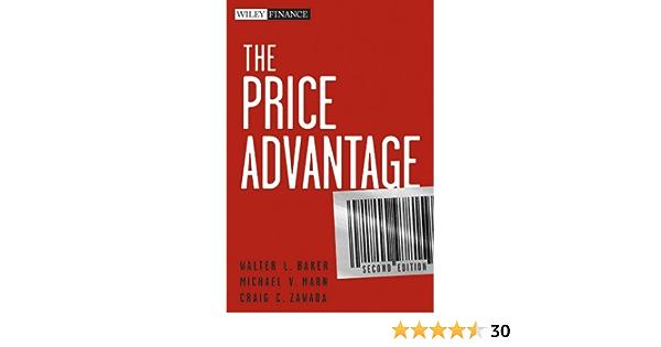 The Price Advantage (Wiley Finance): Amazon.es: Baker, Walter ...