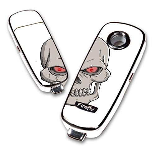 Decal Sticker Skin WRAP - Firefly Vaporizer - Undead Lord Skull Red Eyes Art Image