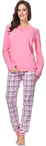 Cornette Pijama para mujer 671 2016 Rosa-03