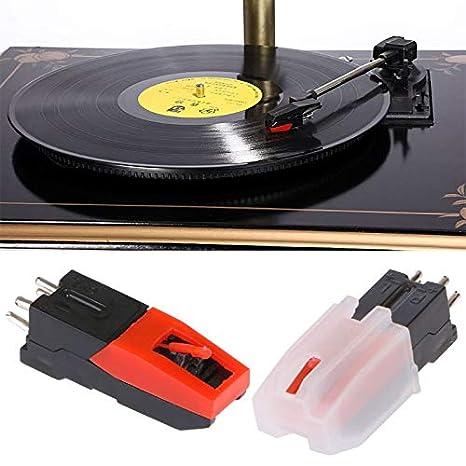 Cartucho de cerámica para tocadiscos de vinilo, diseño estéreo ...
