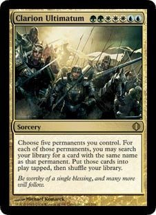 Magic: the Gathering - Clarion Ultimatum - Shards of - Alara Mint