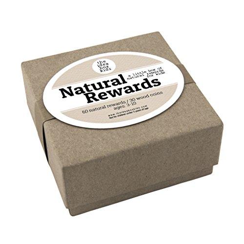 The Idea Box Kids Natural Rewards for Kids: Kids Reward Ideas - Reward System for Kids - Positive Rewards for Kids