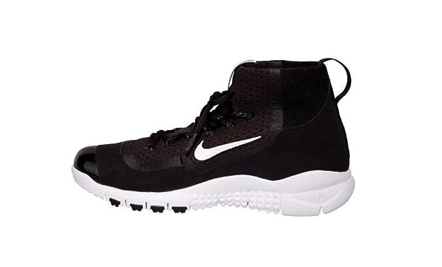 the latest 94cea 7efb9 Amazon.com   Nike Huarache 2KFilth Elite Pregame Black-White Men s Baseball  Shoes 11.5 US   Baseball   Softball
