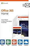 Best Home    Thes - Microsoft Office 365 Home | 12-month subscription, up Review