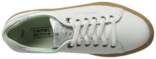 Camel Active Damen Top 78 Sneakers Weiß (white 03)