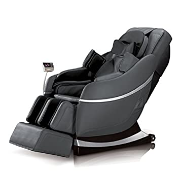 Image result for Robotouch Elite Plus Premium Powerful 3D Zero Gravity Professional Pain Relief Therapeutic Shiatsu Massage Chair with Full Body Stretch (Black)
