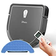 #LightningDeal Dibea 2-in-1 Mopping Robot Vacuum, Automatic Self-Charging Robot Vacuum Cleaner for Pet Hair, Carpet and Hard Floor DT966