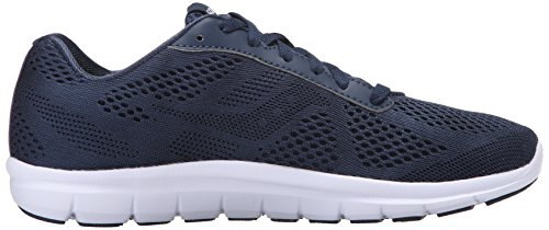 Saucony Women's Ideal Running Shoe, Navy/Silver, 5.5 M US
