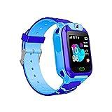 Children's Phone Watch,Waterproof Smart Watch Kids Camera Phone Watch with GPS GSM Locator