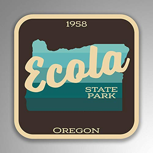 JB Print Magnet Ecola State Park Explore Wanderlust Camping Oregon Vinyl Decal Sticker Car Waterproof Car Decal Magnetic Bumper Sticker 5