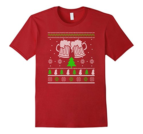Drinking Beer Cheering Ugly Sweater Shirt