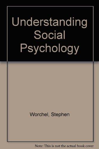 Books : Understanding Social Psychology