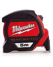 Milwaukee 48227305 HP5Mg/27 Premium magneetbandmaat, rood/zwart