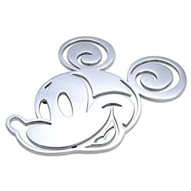 Disney Theme Parks Exclusive Mickey Mouse Icon Aluminum Trivet