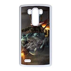 LG G3 Cell Phone Case White League of Legends Corki 005 SH3069814