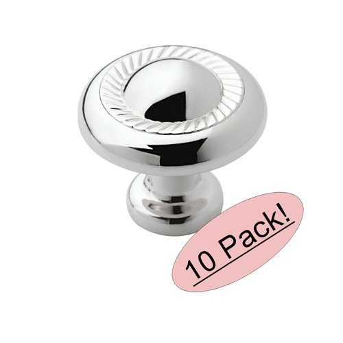 Allison Round Drawer Knob (Set of 10) (Wood Allison Round)