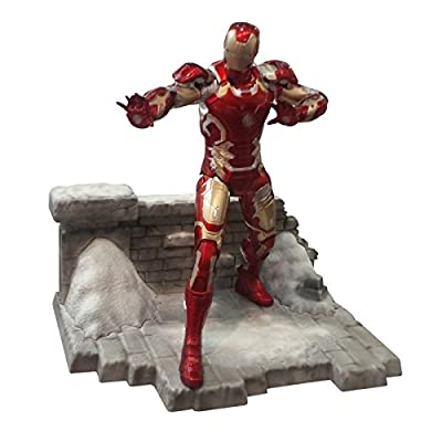 Dragon Models Age of Ultron: Iron Man MK. 43 Action Hero Vignette Statue: Toys & Games