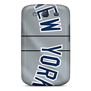 linfenglinGalaxy S3 Case Cover - Slim Fit Tpu Protector Shock Absorbent Case (new York Yankees)