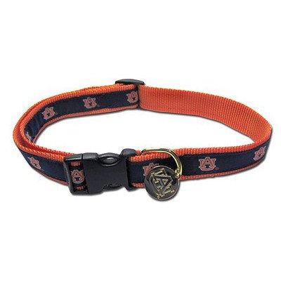 NCAA Auburn Tigers Dog Collar, Medium/Large