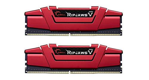 G.Skill Ripjaws V Series 16GB (2 x 8GB) 288-Pin DDR4 2400 (PC4 19200) Intel Z170/X99 Desktop Memory F4-2400C15D-16GVR