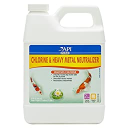 API Pondcare Chlorine and Heavy Metal Neutralizer 32-Ounce